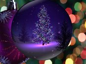 Christmas Globe Animation Wallpaper
