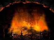Fireplace Animation Wallpaper