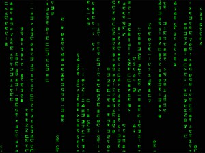 Screen shot: Matrix Code