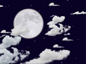 Moon Light Animation Wallpaper