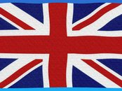 Screen shot: Britische Flagge