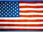 Screen shot: USA-Flagge