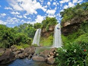 Screen shot: Paradise Waterfall